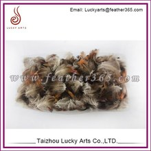 Lucky Arts wholesale price and good quality real bird feathers for sale