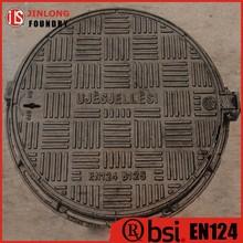 EN124 ductile iron light duty manhole cover B125 factory sale