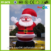 2015 hot sale christmas decoration inflatable christmas santa claus
