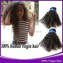 2014 Beauty Kason Hair Brazilian Virgin Jerry Curl Human Hair Pictures Hairstyles