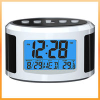 digital clock with back light, good price for promotional,with CE& ROHS