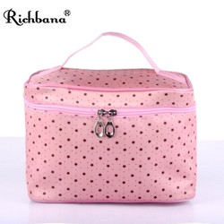 RICHBANA 2016 china wholesale professional makeup bag beauty empty makeup case with lighted mirror