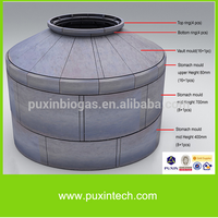 PUXIN china biogas plant septic tank biotech generadores electricos a gas metano