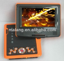 Cheap 7 inch portable dvd player with TV tuner full function for kids