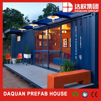 WUHAN DAQUAN Luxury Container House 40ft Shipping Container Price