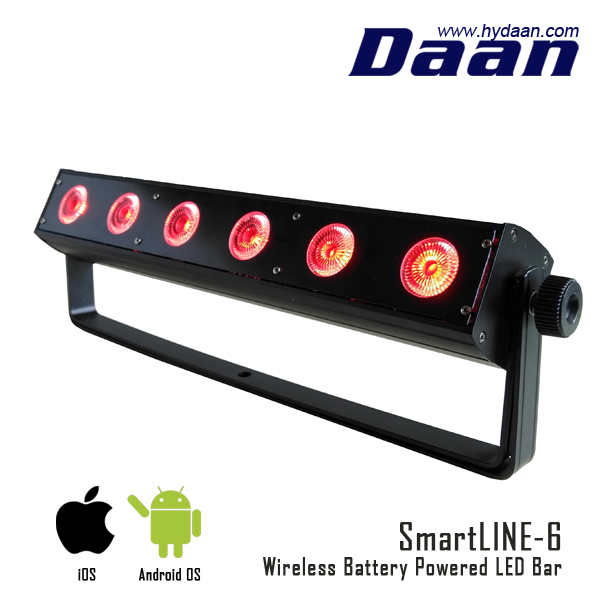 72w wireless dmx battery powered led uplights light bar buy battery powered led light bars. Black Bedroom Furniture Sets. Home Design Ideas
