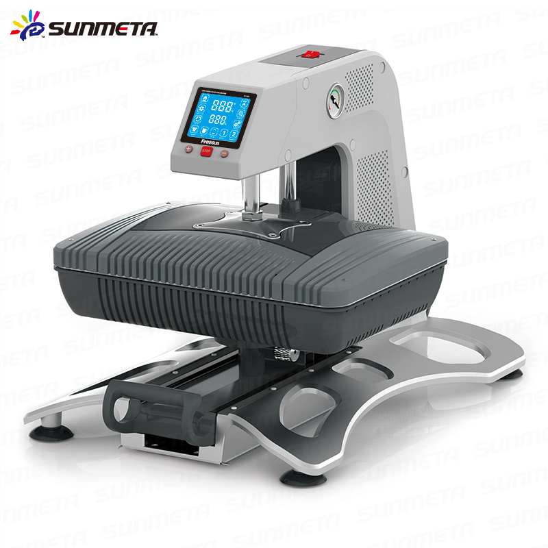Sunmeta new t shirt printing 3d vacuum heat press machine for Machine for printing on t shirts