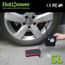 li-ion power tool battery starter power car jump starter tool set with jump start power station air compressor pump