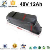 Manufacturer Dolphin Case 48v lithium battery for electric bike E- Bike with Charger BMS Samsung Cell