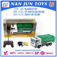 Sanitation truck model toys rc car radio control car for kids popular