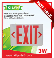 firm for warehouse high power lighting fixtures UL/CUL KILYN LED EXIT Emergency Light