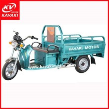 China new motor 3 wheel cargo electric tricycle for sale KAVAKI