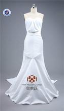 HMY-E0077 Sweetheart Lace Back Satin High-end Custom Formal Dress 2015 China