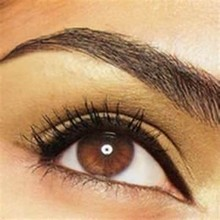 For Sale Real Hair Eyebrows, Black False Eyebrows, Individual Human Hair Eyebrow Extensions