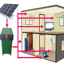 3KW off grid portable home use solar power