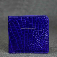 exotic wallet_niloticus crocodile skins. _ porosus crocodile MEN wallet _ croco leather man wallet