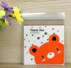 small packing cheap custom cellophane treat bag