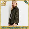 Flap pockets waterproof camo jackets