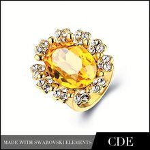Google Jewelry Fashion 18 Carat Yellow Gold Wedding Rings R0061B