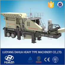 mobile crushing plant quarry stone production line for sale