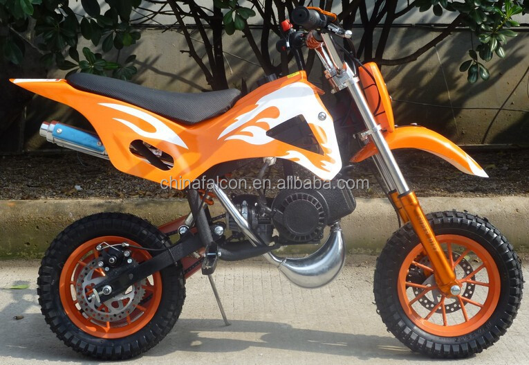 Gas powered 49cc dirt bikes for sale with air cooled 2 for Used dirt bike motors for sale