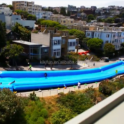 2015 new design Custom made inflatable slip and slide 150 for sale