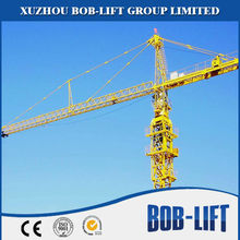 High Performance tower crane boom length with great price QTZ80(5613Fz-6)