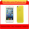 Super thin plastic Cover 0.3mm Case for Apple Mobile Phone iPhone 5S / for iphone 5S ultrathin transparent case