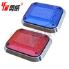 12V flashing red strobe light for special vehicle
