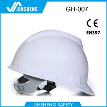 china supplier mining lightweight ABS or HDPE low price v-guard safety helmet