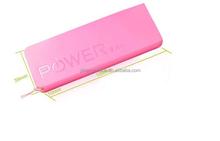 Nuevo 2014 banco de la energía 5600 mAh de copia de seguridad paquete de energía Portable móvil PowerBank cargador de luz indicadora para el iPhone Samsung