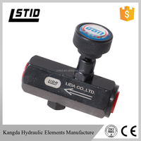 KC series Steel hydraulic flow control valve