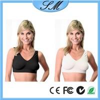 Ladies' sexy seamless sports bra tops/ seamless ahh bra/ seamless genie bra