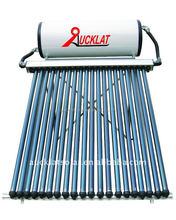 EN12976 compact pressurized heat pipe solar water heater system