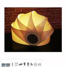2015 Lampara de mesa Pequeño De madera T1003-40