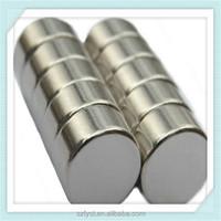 Medical equipment used N38 disc shaped neodymium magnet