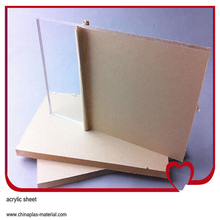 100% virgin material of Cast/clear extruded Acrylic Sheet