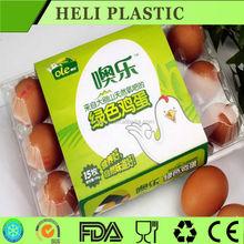 Anti-slip blister plastic PVC quail egg packaging tray for sale