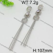 Latest Fashion Style Wholesale basket ball hoop earrings