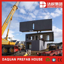 welded prefabricated light steel structure container house