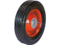 """cart wheel solid rubber tires 6""""x1.5'' inches"""