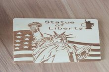 Greeting Card wooden post card