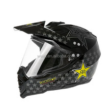 Full face helmet for motorcycle dirt Bike Helmet wlt-128 New style Black