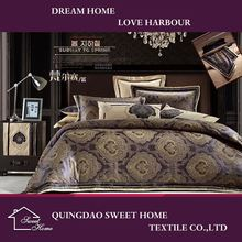 China New Products Hotel Jacquard Comforter Cover Set