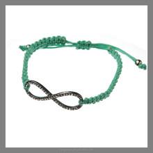 crystal rhinestone love infinity cross leaf clover bracelet,fashion charm bracelet
