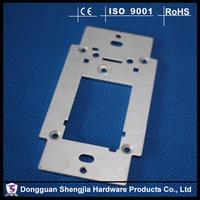 galvanized sheet metal flat stamping parts punching holes fabrications