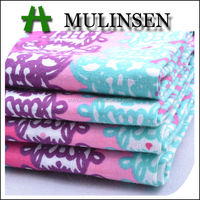Mulinsen Textile Woven Poplin Cartoon Printed 40s Cotton Plain Print Fabric
