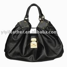 1108- Urban genuine leather hobo bag wholesale price Branded HandBag,soft leather