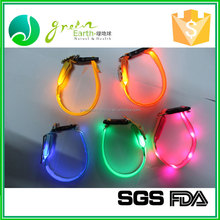 Hot Selling Stocked Chain Leads decorative LED dog collar