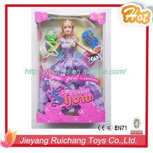 11.5 inch real body barbie dolls plastic barbie dolls